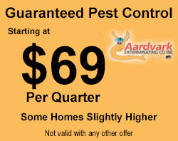 guaranteed pest control coupon